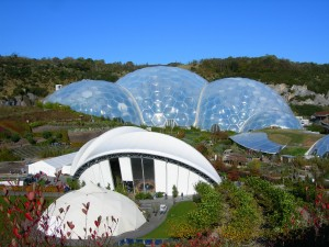 Let's think outside the box when it comes to reducing our impact on the environment- when you look at the Eden project today, you wouldn't know it's built on the remains of a clay mine